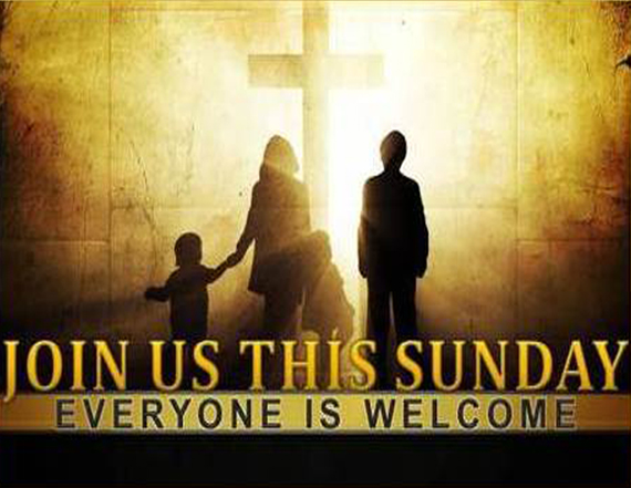 Join us this sunday 2